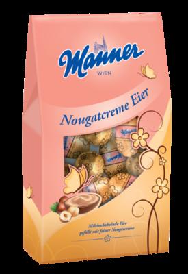 Manner Nougatcreme Eier 150g