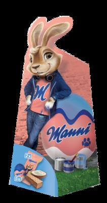 Manner Manni Osterhase Milchschokolade 85g