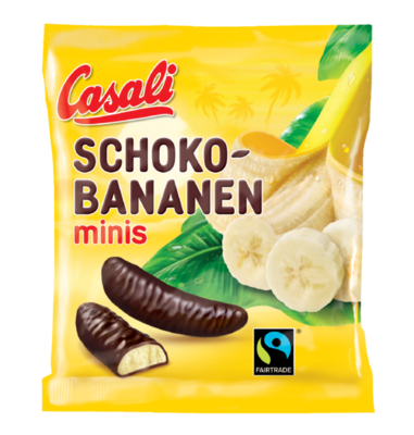 Casali Schoko Bananen 125g