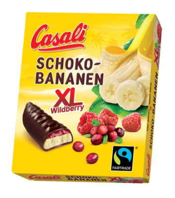 Schoko Bananen XL Wildberry 140g