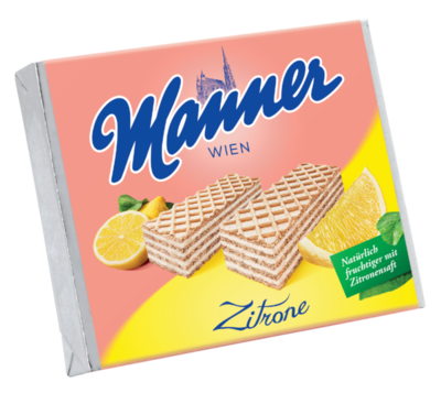 Manner Zitrone 75g
