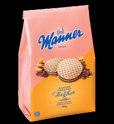 Manner Törtchen Schoko Caramel 400g