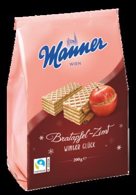 Manner Winterwaffel Bratapfel Zimt 200g