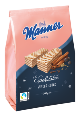 Manner Winterwaffel à la Spekulatius 200g