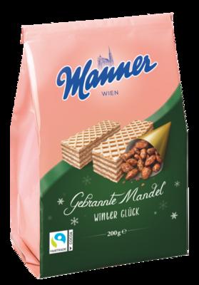 Manner Winterwaffel Gebrannte Mandel 200g