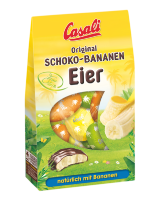 Casali Schoko-Bananen-Eier 180g