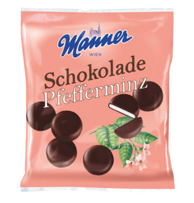 Manner Pfefferminz Schokolade 150g