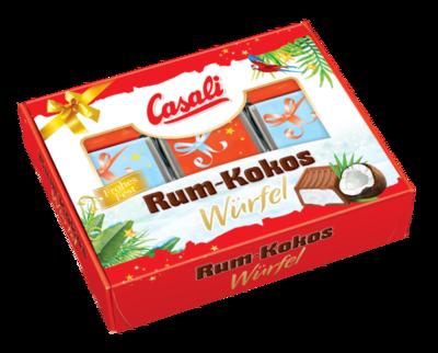 Casali Winterwürfel Rum Kokos 115g