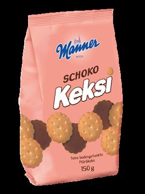 Manner Schoko Keksi 150g