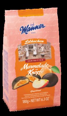 Manner Marmelade Knöpfe 180g