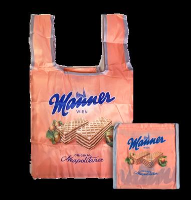 Manner skladací nakupní taška do kabelky - AKCE